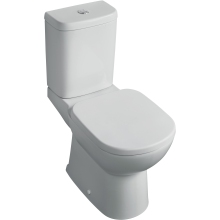 Tempo Close Coupled WC Pan with Horizontal Outlet