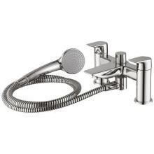 Tesi 2 Hole Dual Control Bath Shower Mixer & Shower Set