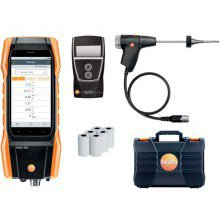 Testo 300LL Longlife Set Flue Gas Analyser Set2 with Printer