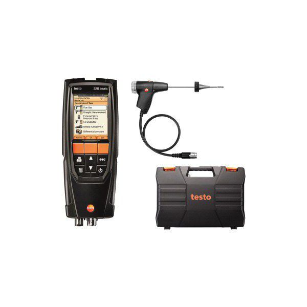 Testo 320B - Flue Gas Analyser (Standard Kit)