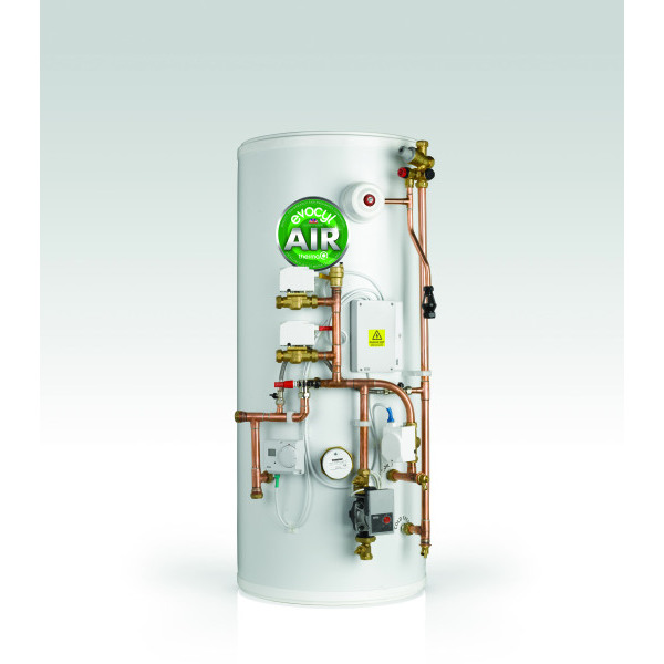 ThermaQ Evocyl Air Slimline Pre-Plumbed Twin Zone Cylinder 150L