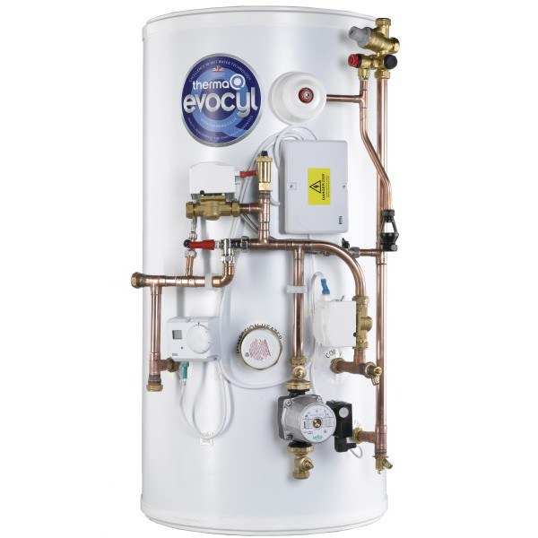 ThermaQ Evocyl Smart UV Indirect Pre-Plumbed Single Zone Cylinder 300L