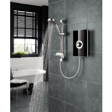 Triton Aspirante 8.5kW Electric Shower - Black Gloss