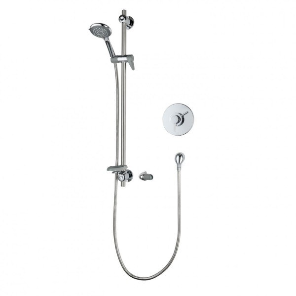 Triton Elina Built-In Concentric TMV3 Thermostatic Mixer Shower & Grab - Chrome