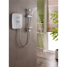 Triton T80Z Fast-Fit 7.5kW Electric Shower - White/Chrome