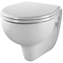 Twyford Alcona Wall Hung WC Pan - White