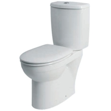 Twyford Galerie Optimise 350x420mm Standard Toilet Seat & Cover White