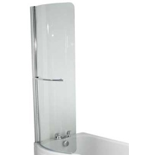 Twyford Galerie Optimise 780mm Bath Screen Right Hand