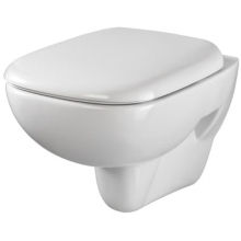 Twyford Moda 356mm x 510mm Wall Hung WC Pan - White