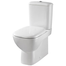 Twyford Moda 364mm x 640mm Close Coupled Back To Wall WC Pan - White