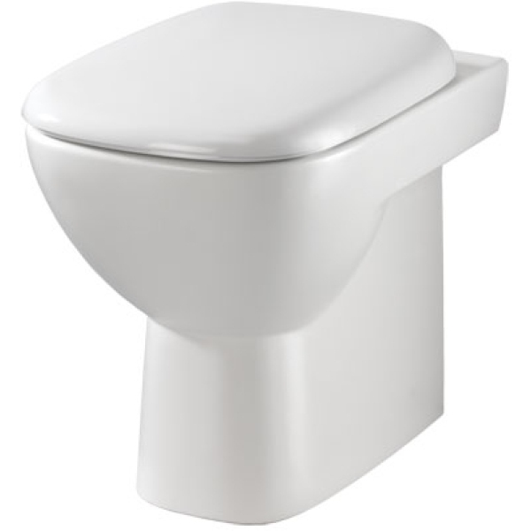 Twyford Moda Back To Wall WC Pan - White
