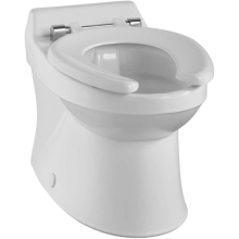 Twyford Sola Rimless Horizontal Outlet School WC Pan - White