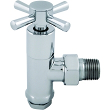 Ultima Quattro Radiator Valve 15mm Chrome