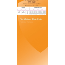 Ventilation Slide Rule Booklet SRB1