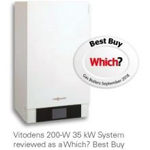 Viessmann Vitodens 200-W 19kW System Boiler with Vitotronic 200 Weather Comp