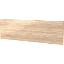 Vio 1700mm Bath Side Panel -Natural Oak