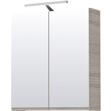 Vio 600mm Mirror Cabinet -Drift