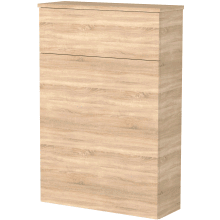 Vio 600mm Toilet Unit -Natural Oak
