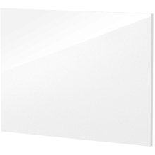 Vio 800mm Bath End Panel -White Gloss