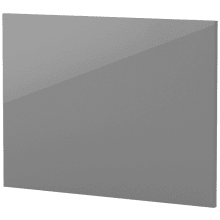 Vio 800mm Bath End Panel -Grey Gloss
