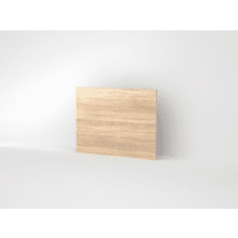 Vio 800mm Bath End Panel -Natural Oak