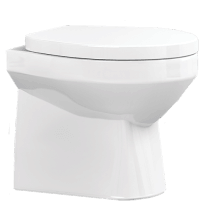 Vio Back to Wall Toilet and Soft Close Seat