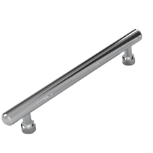 Vio Chrome Straight Bar Handle