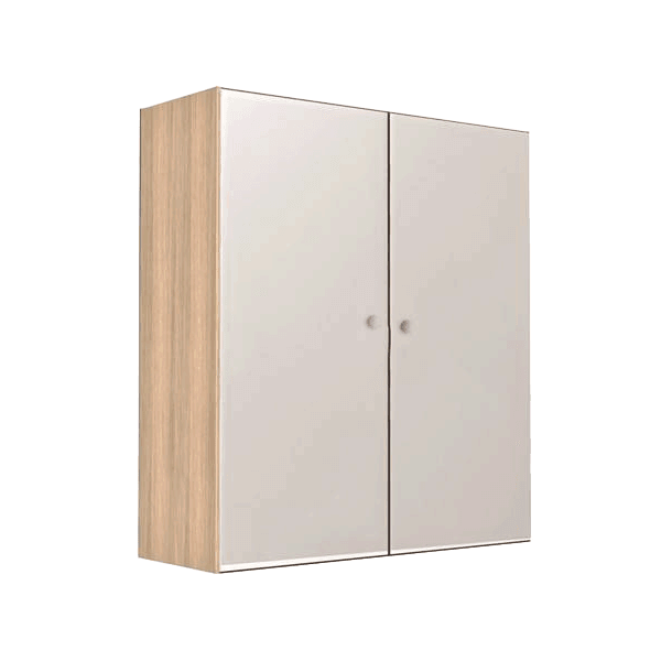 Vio Double Mirror Cabinet Cashmere 600 x 175 x 660mm