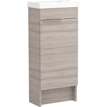 Vio Freestanding Cloakroom Washbasin Unit Only Rh -Drift