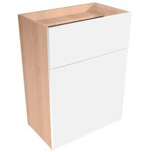 Vio Full Height Toilet Unit 500 x 290 x 835mm Eden