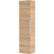 Vio Tall Storage Unit Left Hand -Natural Oak