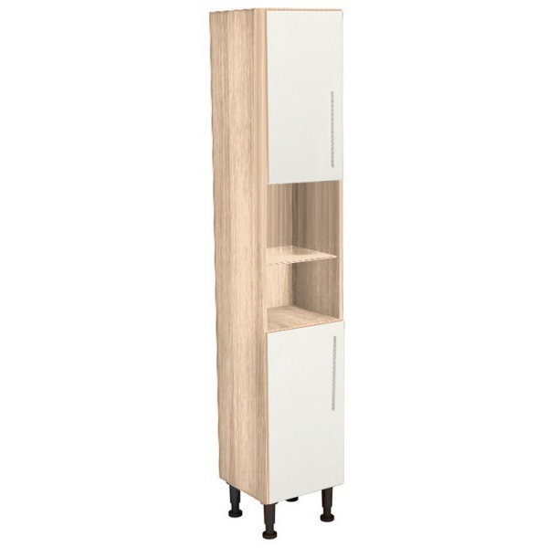 Vio Tall Unit 300 x 290 x 835mm Eden Cashmere Gloss Cashmere