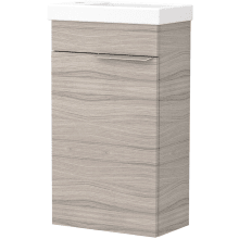 Vio Wall-Hung Cloakroom Washbasin Unit Only Lh -Drift