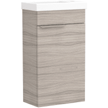 Vio Wall-Hung Cloakroom Washbasin Unit Only Rh -Drift