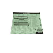 Warning Notice Report Pad Regp55