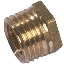 "Westco Bush 11/2"" x 1/2"" Brass"
