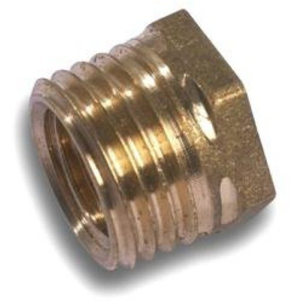 "Westco Bush 1/4"" x 1/8"" Brass"