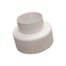 Westco Flushpipe Connector Universal External White