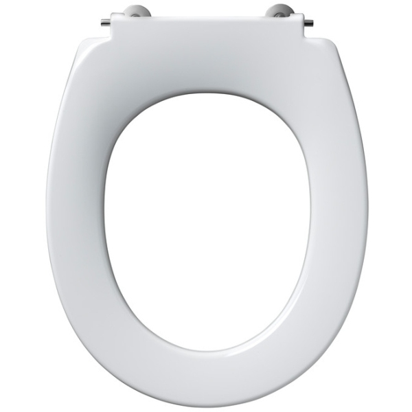 Armitage Shanks Contour 21 Small Toilet Seat For 305mm High Pan No Cover Bottom Fixing Hinges White