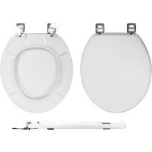 Wirquin Celmac Emerald Toilet Seat & Cover with Metal Hinges