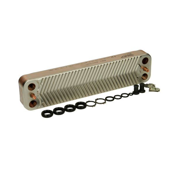 WOR87161066860 Heat Exchanger 12 Plate P