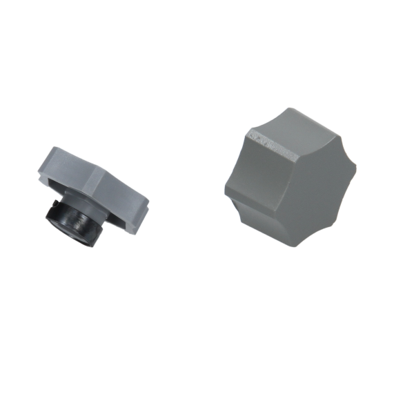 WOR87161211090 Spindle Knob Assy Grey P