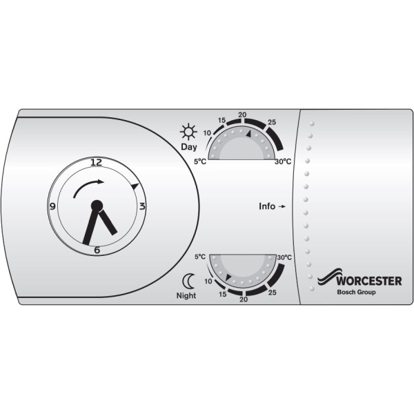 Worcester MT10RF Mechanical RF Thermostat