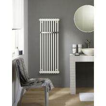 Zehnder Charleston Bar 2 Column 892 x 486mm Towel Radiator White